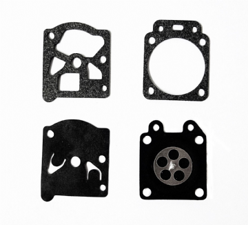 Husqvarna 136 & 136LE Chainsaw Carburettor Gasket & Diaphragm Kit Set for WALBRO